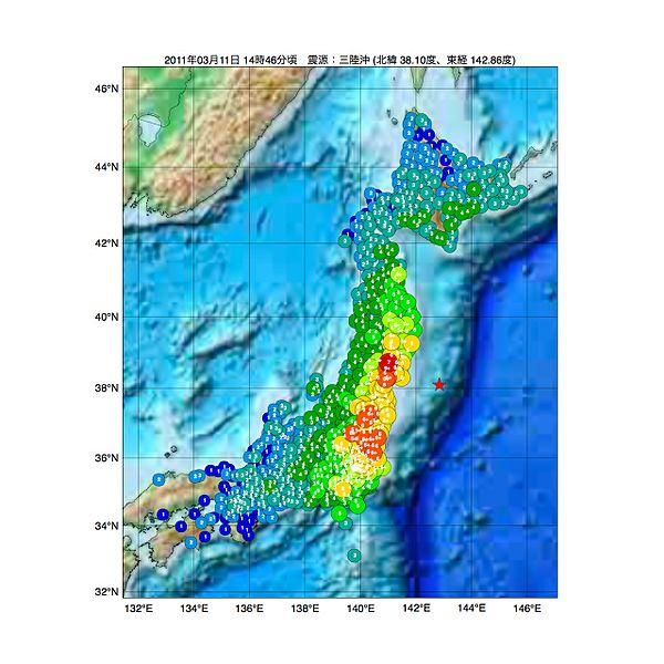 【東日本大震災】巨大地震が発生した東北沖の海底プレート…再び境界に「ひずみ」がたまり始めている可能性が高いことが判明