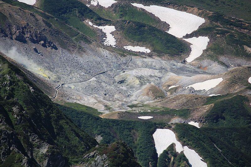 【富山】立山・弥陀ヶ原火山…17年前の平成10年以降に噴火か?先月31日の調査で判明