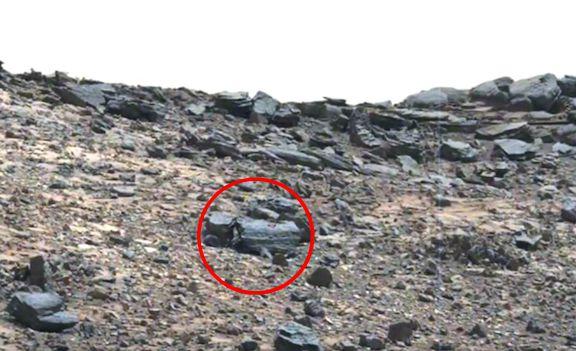 火星で「トラック」のような物体が発見される!