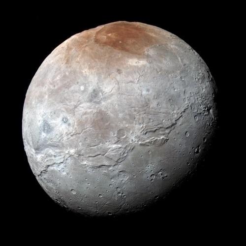 冥王星・衛星カロンに「激動の歴史」氷火山活動…内部にあった海が凍って体積が膨張、氷が噴出