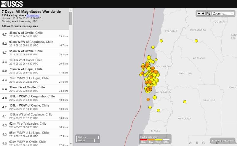 【チリ地震】M6クラスの余震が相次ぐ…収まらない地震に住民の不安が増す