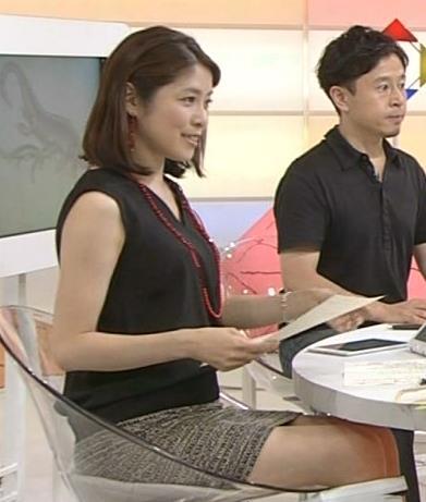 鎌倉千秋 NHKにしては攻めのミニスカ美脚キャプ画像(エロ・アイコラ画像)