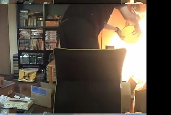 今話題の生主の火事動画