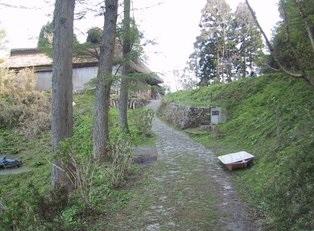 古道・木の芽峠(古代の北陸道・ほくろくどう)