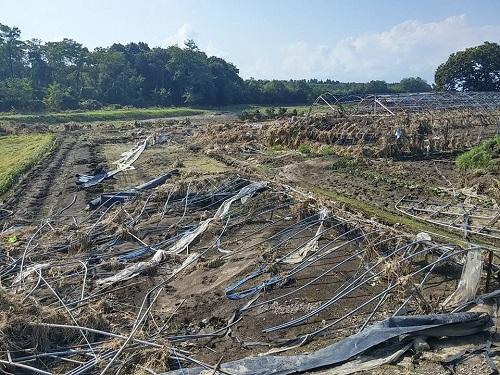 台風18号水害の爪痕…壬生町⑦