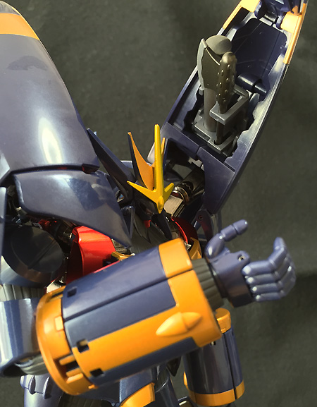 超合金魂 トップをねらえ! GX-34R ガンバスター バスター合金カラーVer. 約250mm PVC&ABS&ダイキャスト製 塗装済み可動フィギュア