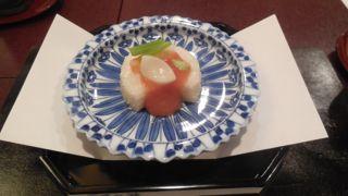 山芋の前菜