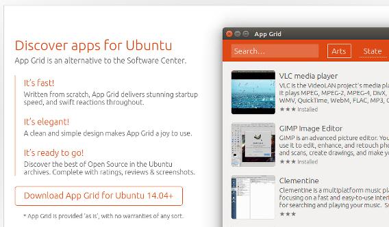 App Grid 0.252 Ubuntu debパッケージ ダウンロード